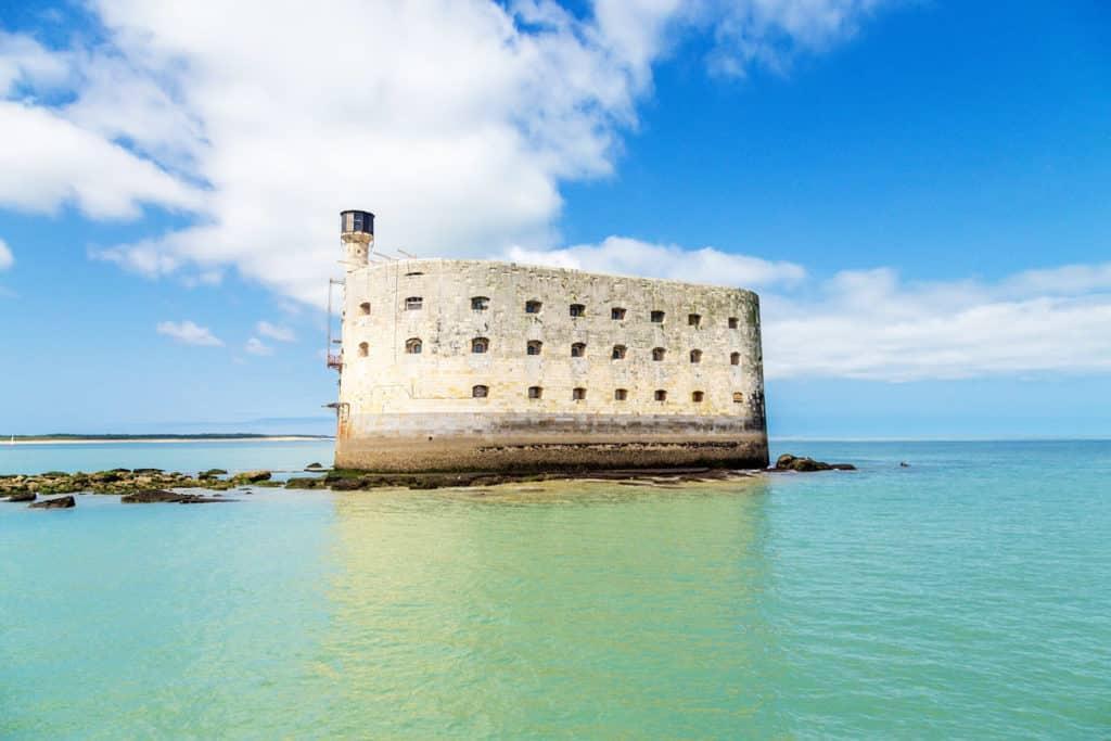 Fort Boyard situé à Boyardville sur ile  Oléron